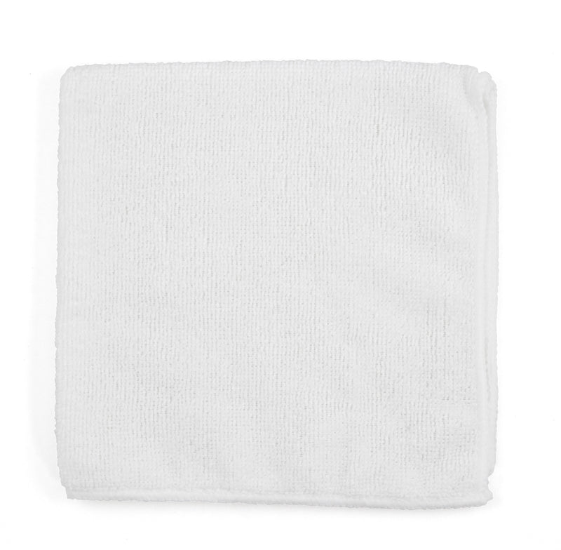 "Adenna 2512-W-DZ Micro Fiber Towel 12 X 12"" White, 300 GSM (Case of 5 Pack)"