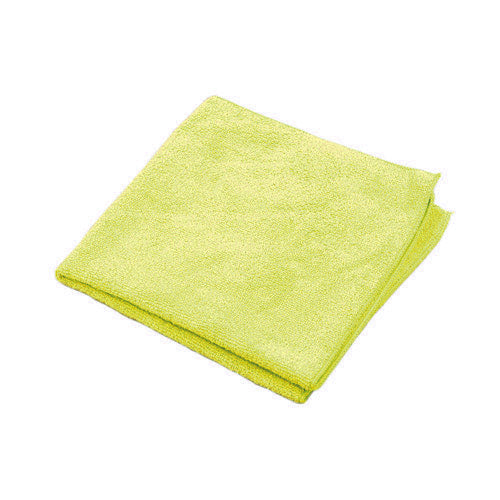 Adenna 2512-Y-500 Microfiber Towel, 12x12, Yellow, 300 GSM, 500 Bulk (Case of 1)