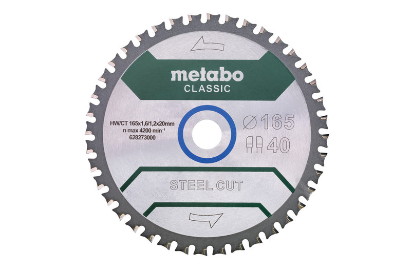 "Metabo 628273000 6-1/2"" Steel ""Classic"" (Pack of 2)"