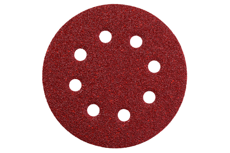 "Metabo 631586000 Sandpaper - 5"" Dia. - A80 - 25/Pk, (Pack of 2)"