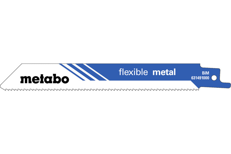 Metabo 631491000 Recip. Saw Blade - 5/Pk, (Pack of 3)
