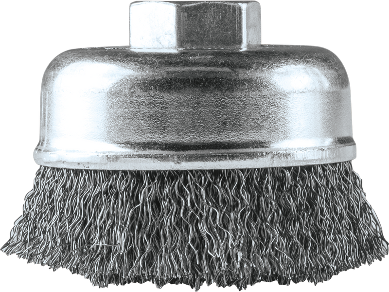 "Makita A-98398 3"" Crimped Wire Cup Brush, 5/8""‑11 (Pack of 40)"