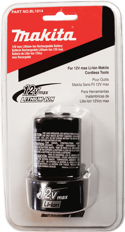 Makita BL1014 12V max Lithium‑Ion Battery (Pack of 10)