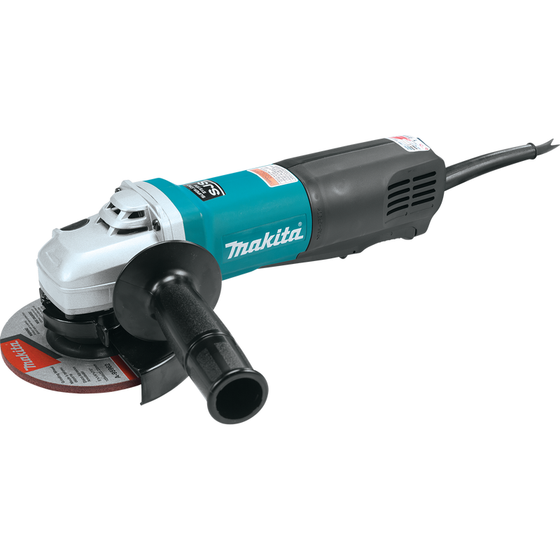 "Makita 9565PCV 5"" SJS™ High‑Power Paddle Switch Angle Grinder (Pack of 4)"