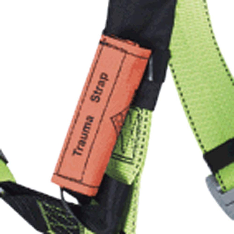 Peakworks V860303 Fall Protection Suspension Trauma Strap for Safety Harnesses, Universal, Black