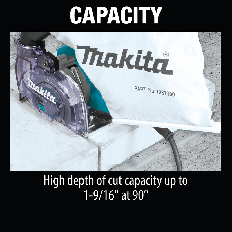 "Makita 4100KB 5"" Dry Masonry Saw, with Dust Extraction (Pack of 2)"