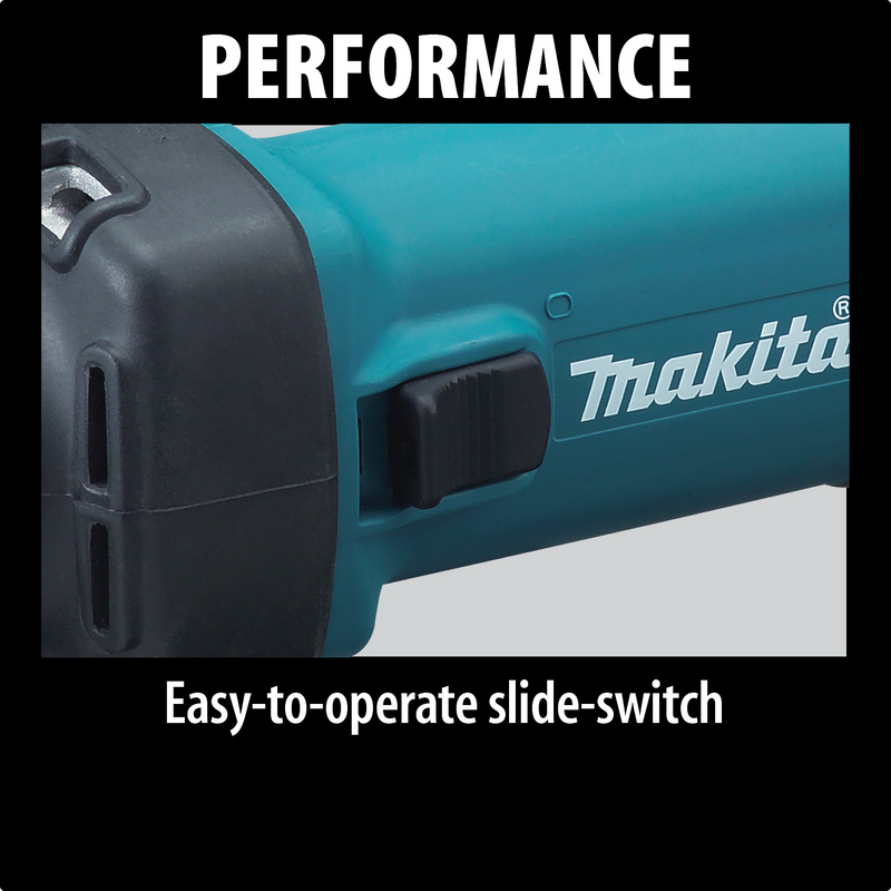 "Makita GD0601 1/4"" Die Grinder, with AC/DC Switch (Pack of 5)"