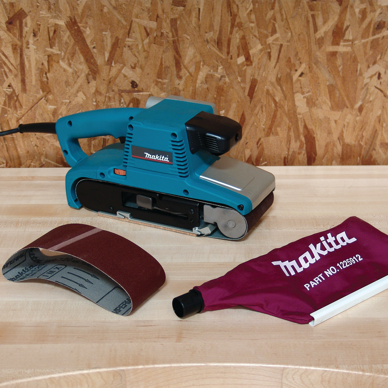 "Makita 9404 4"" x 24"" Belt Sander, with Variable Speed (Pack of 3)"