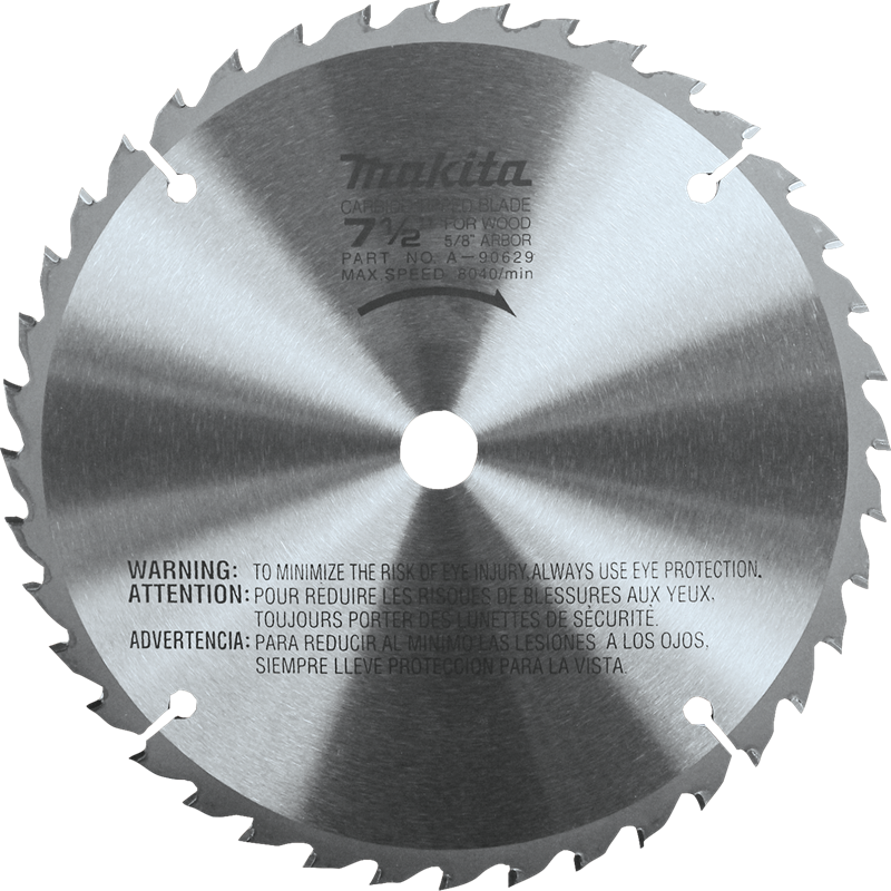 "Makita A-90629 7-1/2"" 40T Carbide-Tipped Miter Saw Blade(Pack of 50)"