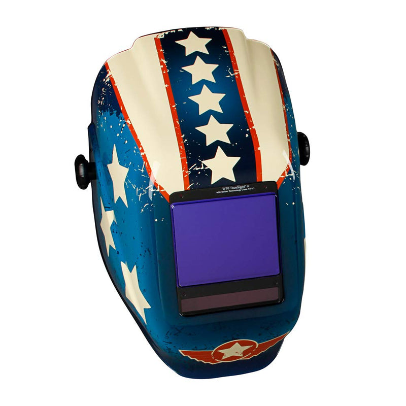 True Sight II Digital Variable Auto Darkening Filter Welding Helmet with Balder Technology(Case of 1 Pcs)