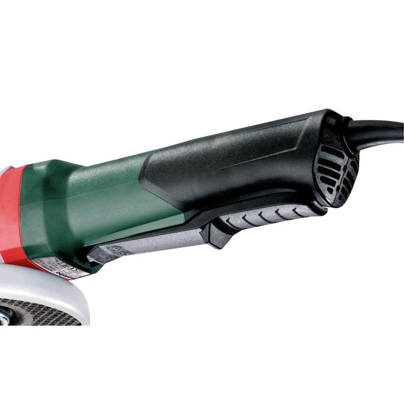"METABO 600538420 6"" Angle Grinder - 11,000PRM - 14.5 AMP w/Brake, Non-Lock Paddle, Electronics, Drop Secure"