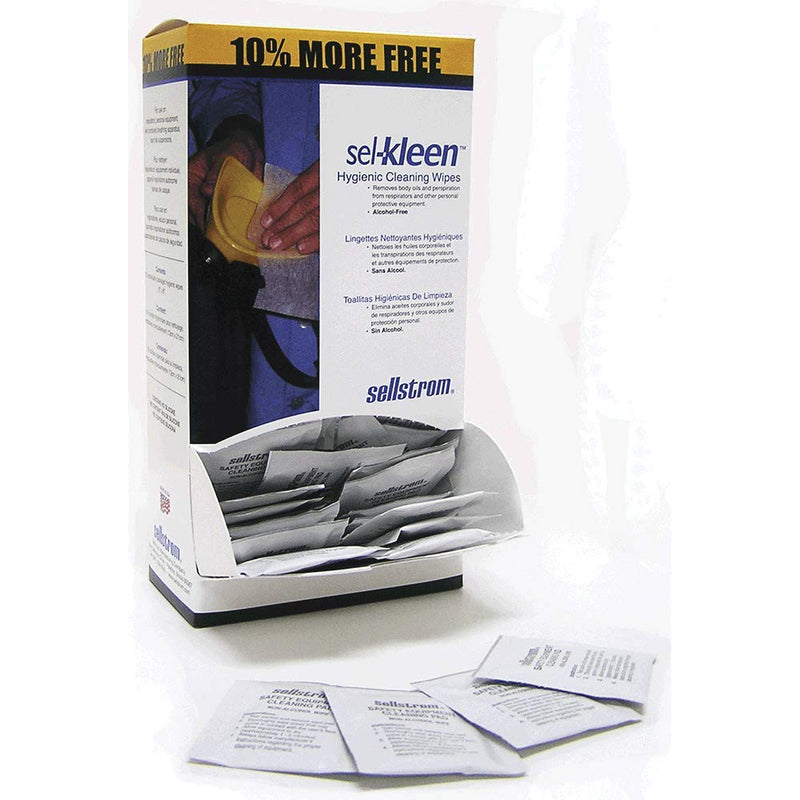 Surewerx S22185 Sel-KleenTM Pre-Moistened Equipment Cleaning Packets (Case of 10 Pcs)