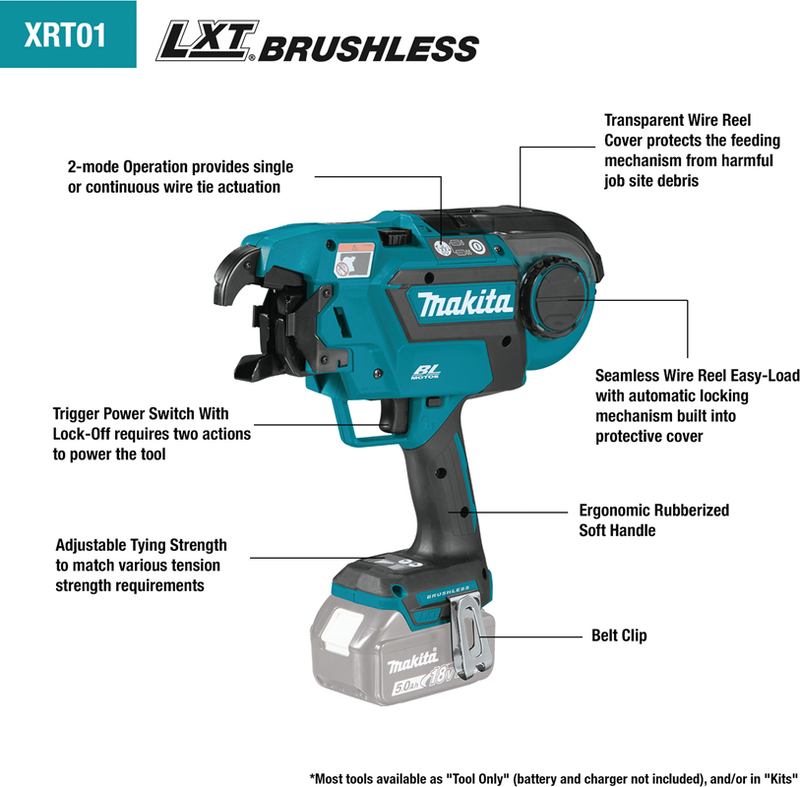 18V LXT® Lithium‑Ion Cordless String Trimmer, Tool Only