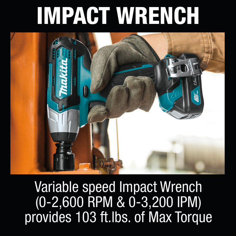 12V max CXT® Lithium‑Ion Cordless 4‑Pc. Combo Kit (1.5Ah)