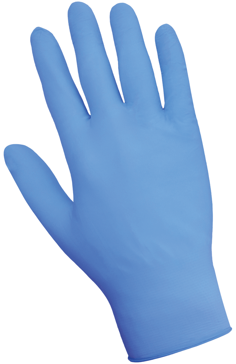 Global Glove 705PFE Economy Blue Powder-Free 3.5-Mil Nitrile Disposable Gloves (10 Box/Case)