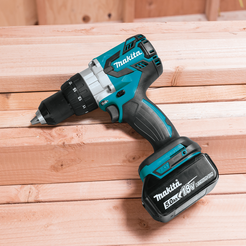 "18V LXT® Lithium‑Ion Brushless Cordless 1/2"" Driver‑Drill Kit (5.0Ah) (Box of 2)"