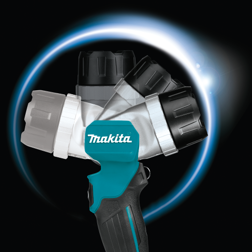 Makita DML808 18V LXT® Lithium-Ion Cordless Adjustable Beam L.E.D. Flashlight (Pack of 12)