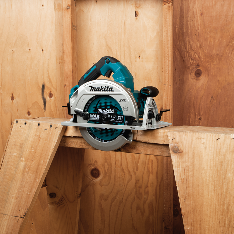 "Makita XSH07PTU 18V X2 (36V) LXT® Lithium‑Ion Brushless Cordless 7‑1/4"" Circular Saw Kit, AWS™ Capable (5.0Ah)"