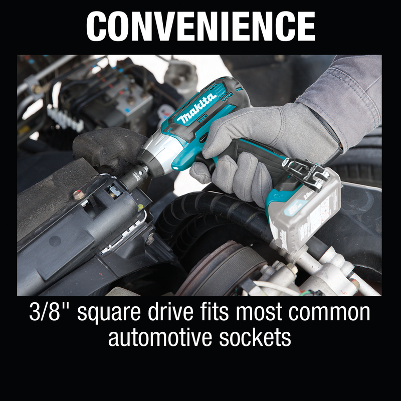 "Makita WT02Z 12V max CXT® Lithium‑Ion Cordless 3/8"" Sq. Drive Impact Wrench (Box of 6)"