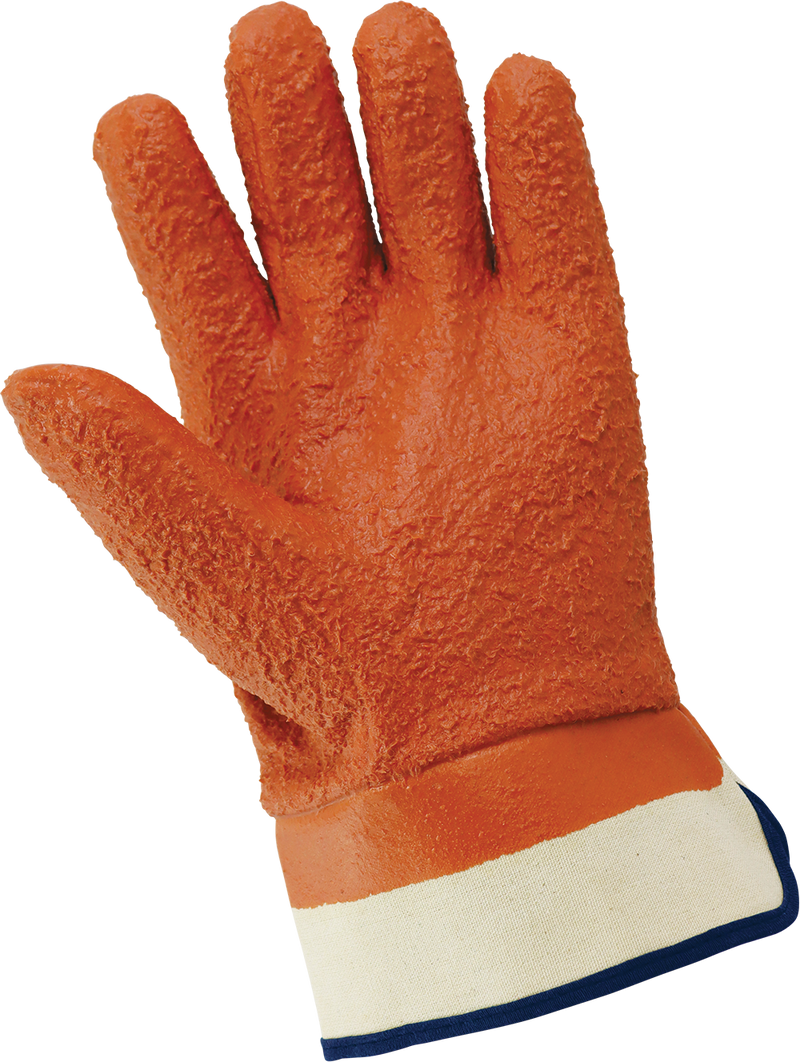 Global Glove 870-SC Chemical Resistant Supported Neoprene, PVC and Nitrile Gloves - One Size (Case of 72 Pairs)