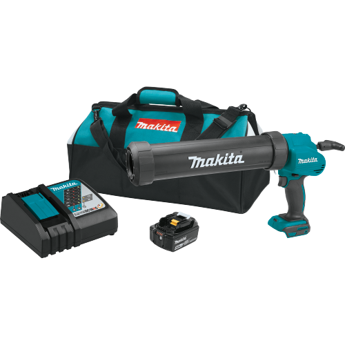 Makita XGC01T1C 18V LXT® Lithium‑Ion Cordless 29 oz. Caulk and Adhesive Gun Kit (5.0Ah)