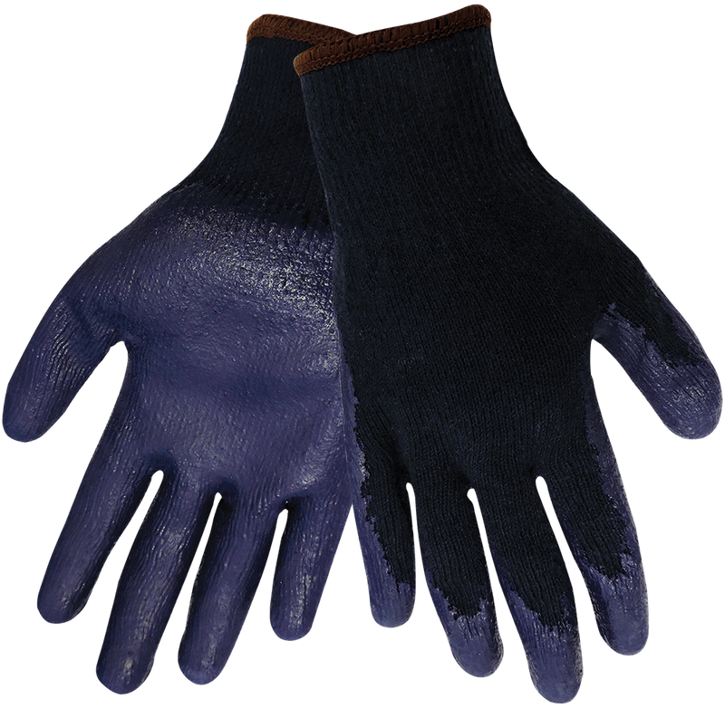 Global Glove S988 Medium-Weight String Knit Rubber Coated Gloves (Case of 240 Pairs)