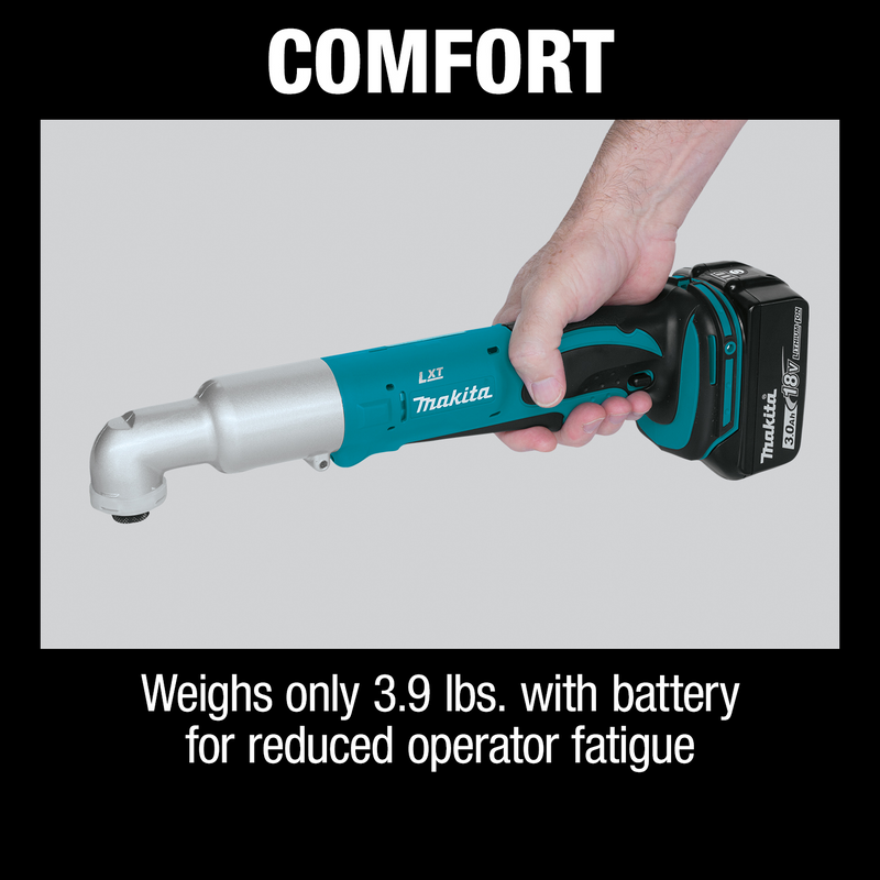 18V LXT® Lithium‑Ion Cordless Angle Impact Driver Kit (3.0Ah)