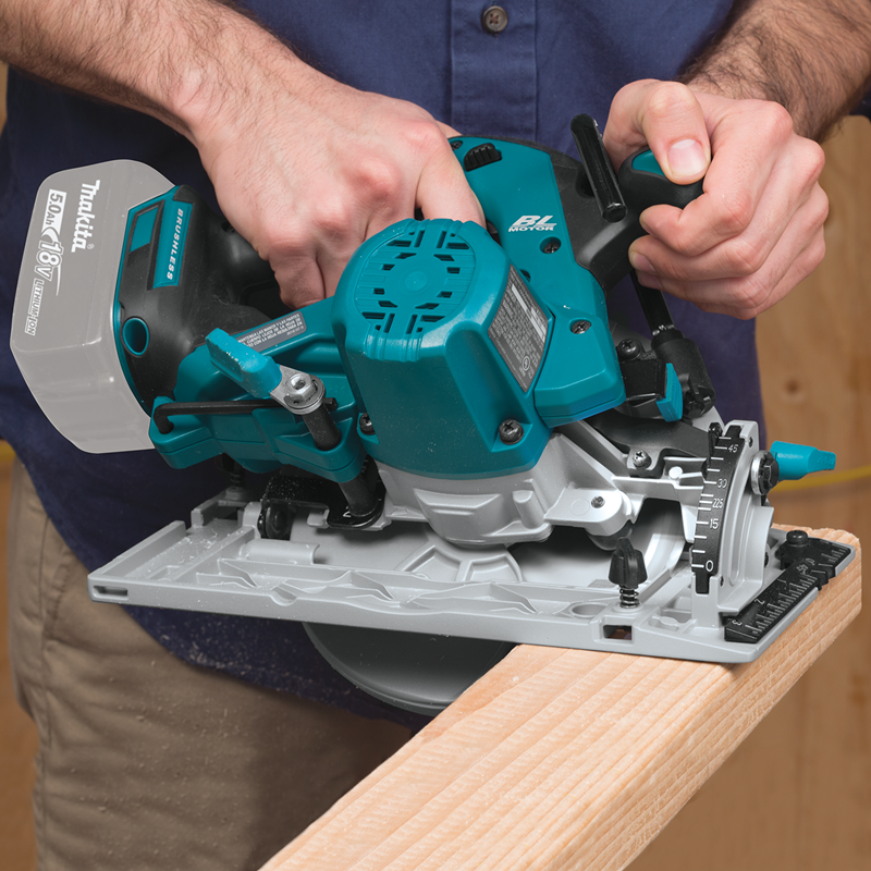 "18V LXT® Lithium‑Ion Brushless Cordless 6‑1/2"" Circular Saw, Tool Only (Pack of 2)"