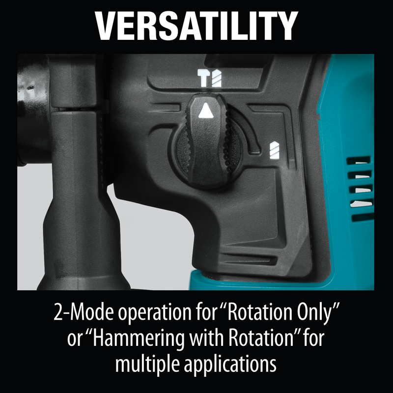 "Makita RH02Z 12V max CXT® Lithium‑Ion Cordless 9/16"" Rotary Hammer (Pack of 5)"