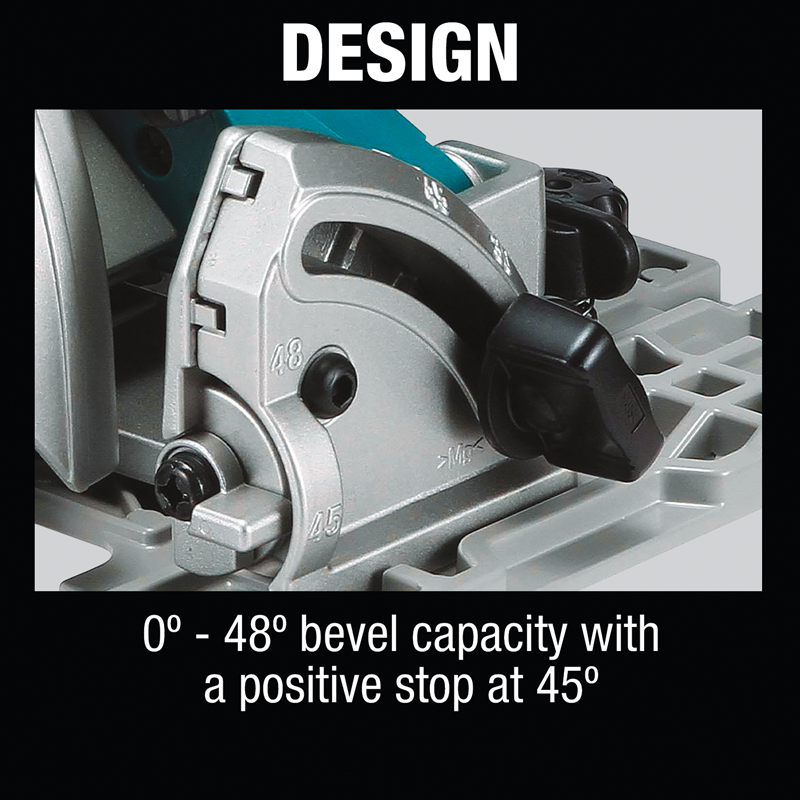 "18V X2 (36V) LXT® Lithium‑Ion Brushless Cordless 7‑1/4"" Circular Saw with Guide Rail Compatible Base, Tool Only"