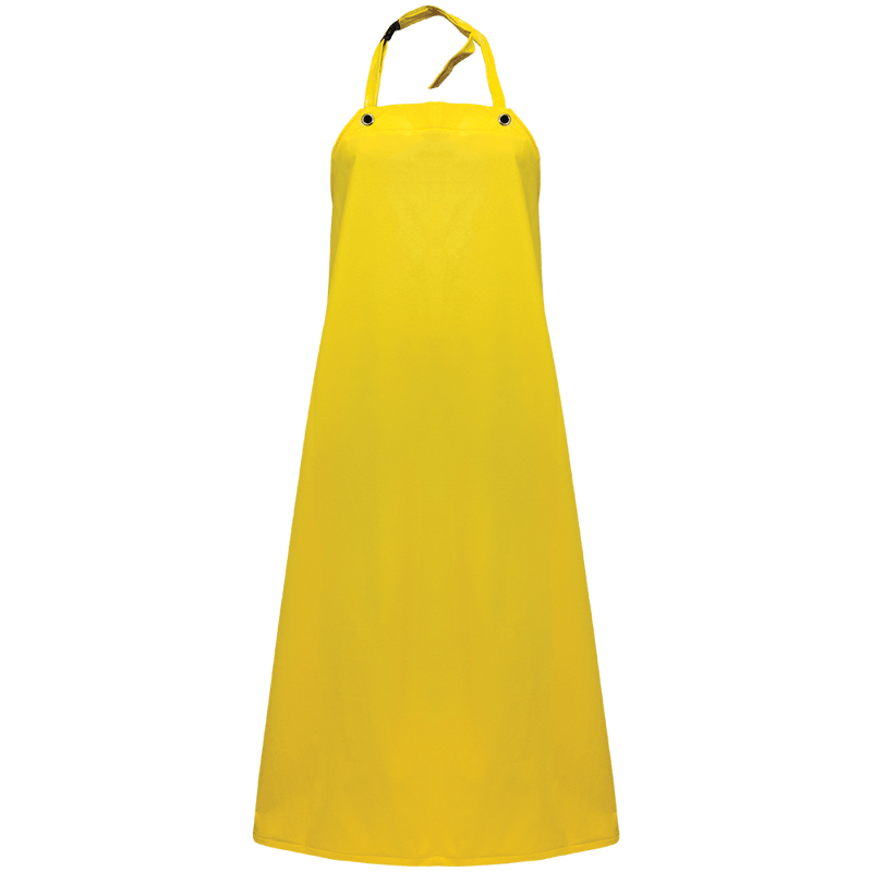Industrial Yellow Nitrile Apron - A48Y (12 Each/Case)