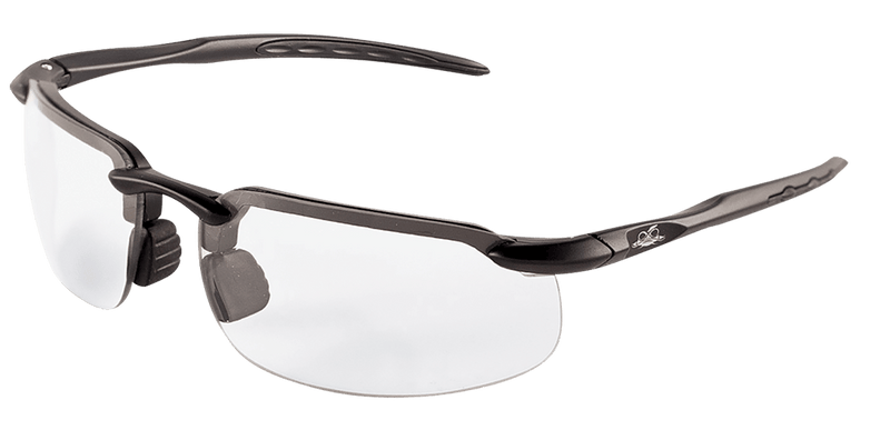 Bullhead BH1063PFT Smoke Performance Fog Technology Lens, Matte Black Frame Safety Glasses (144 Each/Case)