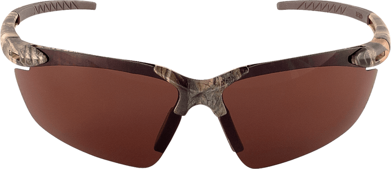 Bullhead BH11108 Brown Lens, Woodland Camouflage Frame Safety Glasses  (144 Each/Case)