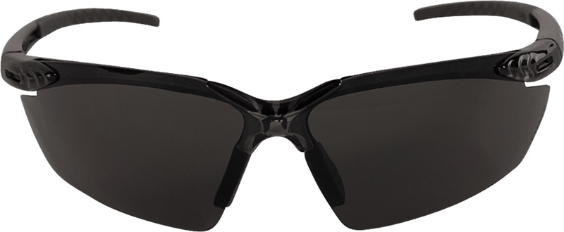 Bullhead BH1133AF  Dark Smoke Anti-Fog Lens, Crystal Black Frame Safety Glasses (144 Each/Case)
