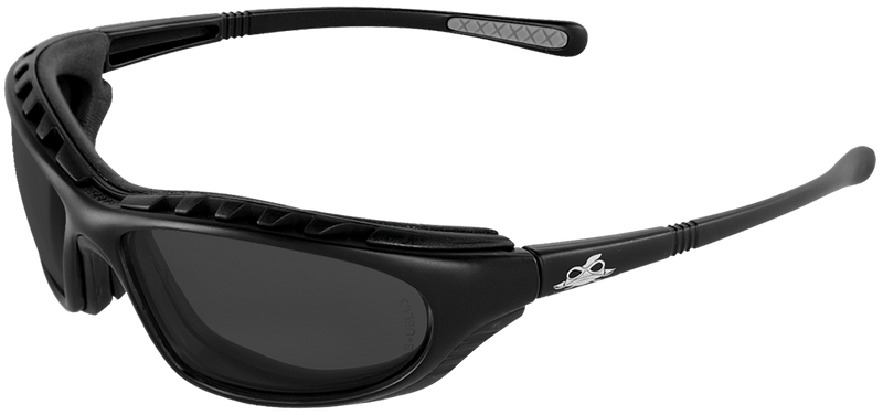 Bullhead BH1363AF Smoke Anti-Fog Lens, Matte Black Frame Safety Glasses (Case of 144)