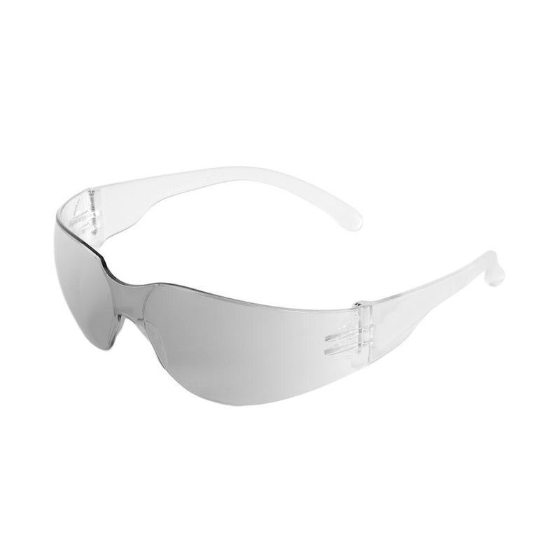 Bullhead BH13164  Mini Indoor/Outdoor Lens, Frosted Clear Frame Safety Glasses (Case of 144)