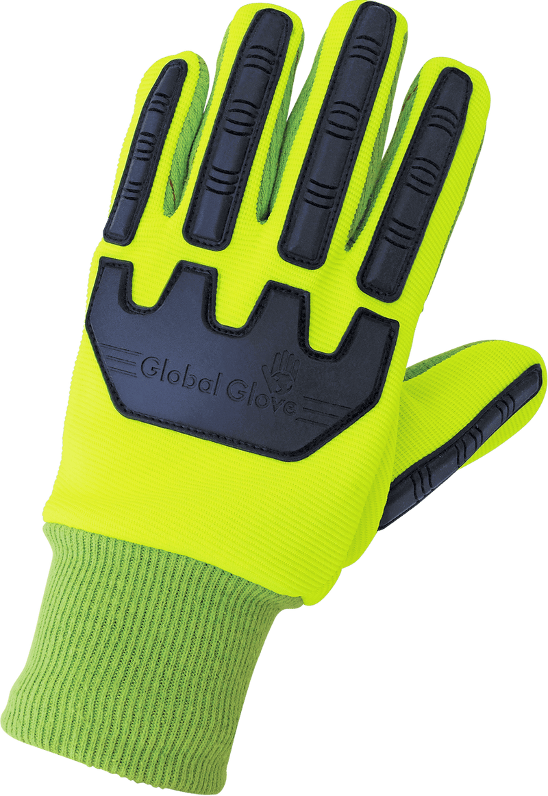 Global Glove C19GCPB Cotton, Inspectors, Lisle, Canvas, Corded Gloves (Case of 72 Pairs)