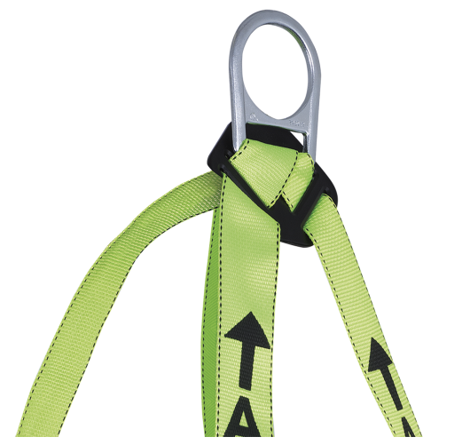 PeakWorks V8001200 Compliance Harness-1D-Class A-Pass-Thru Chest Buckle - Grommeted Leg Straps(Case Of 5 Pcs)