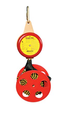 "Peakworks V85531-250 Compact, Lightweight, Bi-Directional, Easy to Use, 250' Poly-Steel, 3' per Second, Escape-Rite Emergency Controlled Descent System, 8""H x 18"" L x 10"" W"