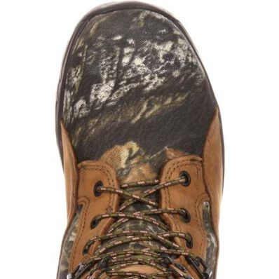 Rocky FQ0001570 Waterproof Snakeproof Hunting Boot, Mossy Oak Break Up