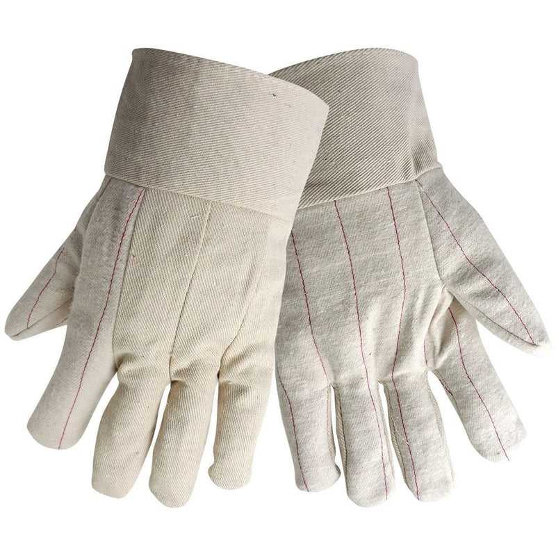 Global Glove C18DP Corded Cotton Double Palm Gloves  (Pack of 12)
