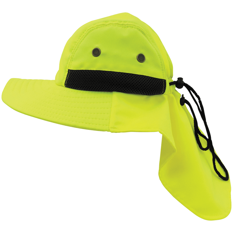 HV High-Visibility Ranger Style Hat - GLO-H5 (50 Each / Case)