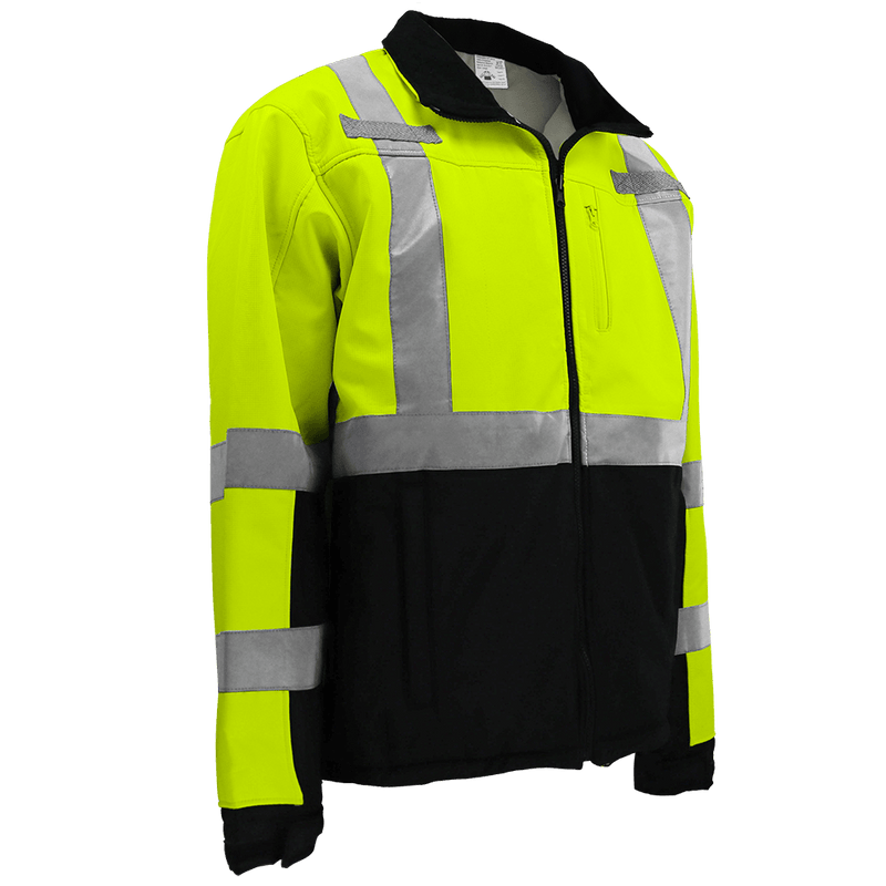 HV Premium Fleece Lined Softshell Jacket - GLO-SJ1 (Case of 10)