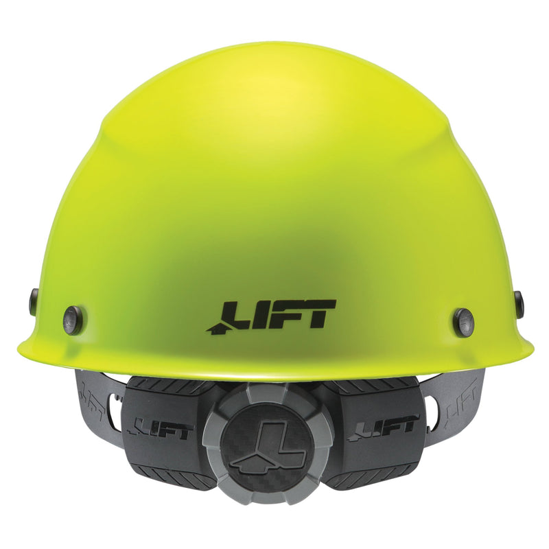 Lift Safety HDFC-18HV - DAX Fiber Resin Cap Brim (Yellow) (Case of 1 Box)