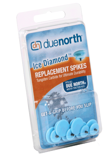 Ice Diamond Replacement Spikes For Traction Aid (Case Of 30 Pair)