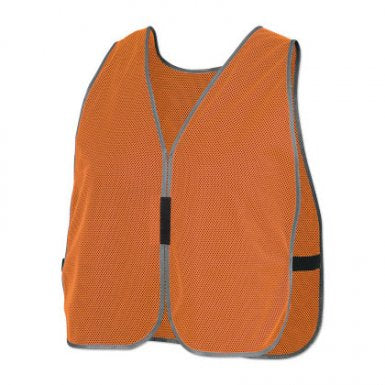Pioneer Plain Mesh Safety Vests(Case Of 200 Pcs)