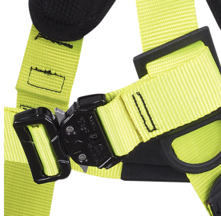 PeakWorks V80051-71 PeakPro Plus Harness with Positioning Belt - 5D - Class APE(Case Of 5 Pcs)