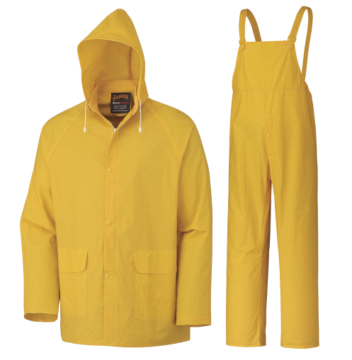 Pioneer V3010460U Storm Master Waterproof 3-Piece Rainsuit - Yellow (Case Of 12 Pcs)