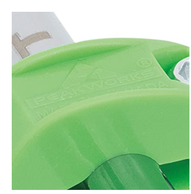 "Peakworks V8561101 Tool Tethering System, 1/2"" Round Clamp, HDPE, Green - (Case Of 50 Pcs)"