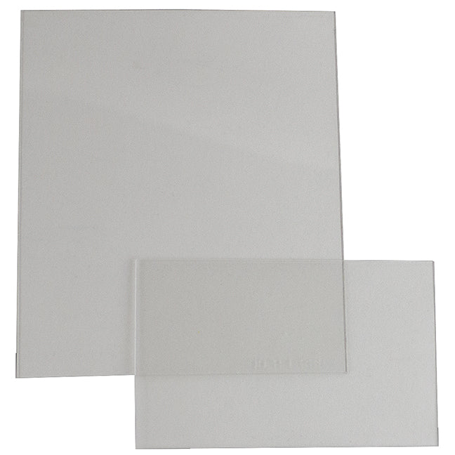 S19452 Clear Cover Plates Front and Back Set - (Case of 100 Pcs)